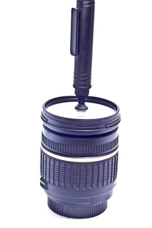 neccessary: zoom lens with lens cleaning brush pen