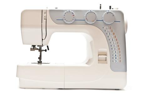 Sewing machine isolated on white background Stock Photo - 8314568