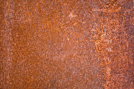 Iron sheet with rust as background Stock Photo