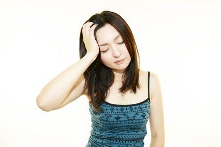 headaches: Women suffer from headaches