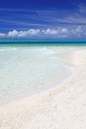Gorgeous Beach in Summertime Stock Photo - 15103113