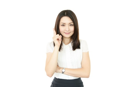 Smiling business woman Stock Photo - 15103120