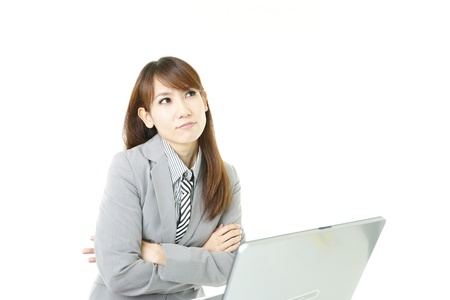 Stressed Business Woman Stock Photo - 15922047