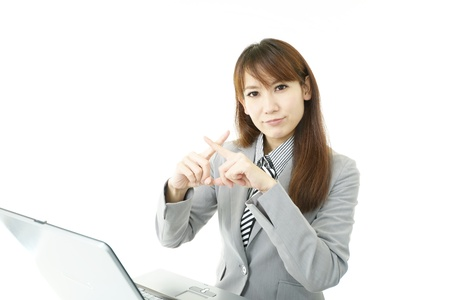 Stressed Business Woman Stock Photo - 15922071