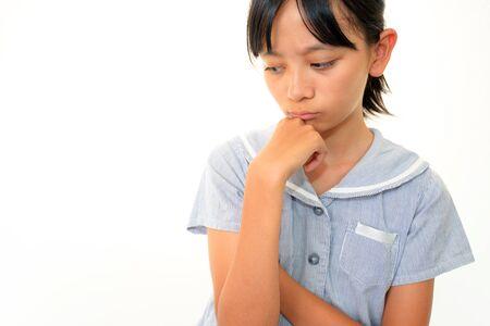 ragazza depressa: Depressed girl