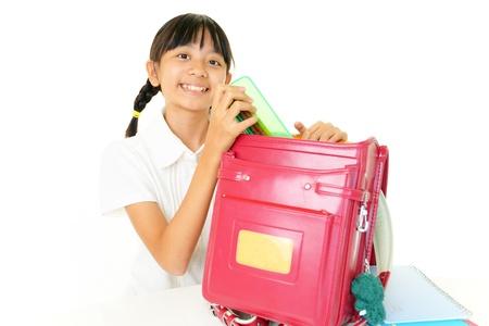 Smiling Asian girl 版權商用圖片