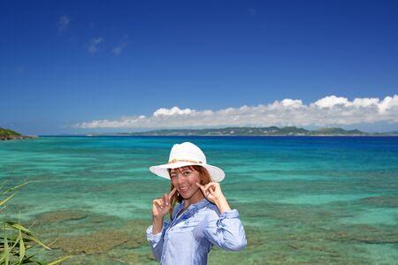 A relaxed woman  Фото со стока
