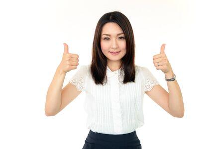 iuml: Business woman enjoying success