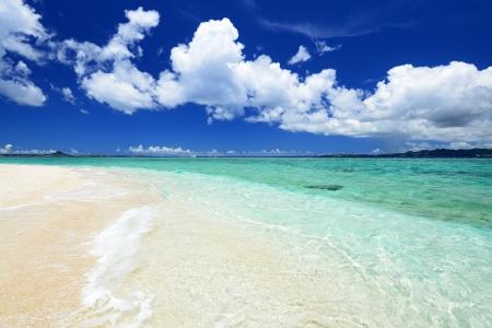 sandy: Hermosa playa en Okinawa