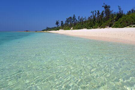 Playa magnífica en verano