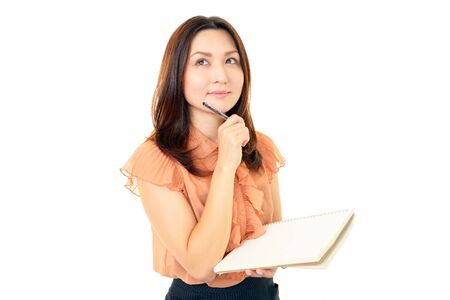 Smiling business woman Stock Photo - 15454885