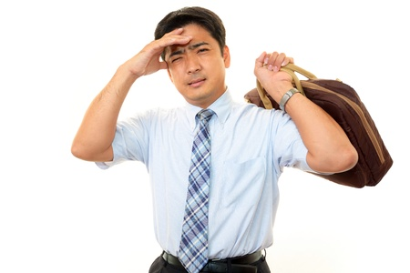 Stressed businessman Stock Photo - 15647962