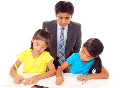 Children Studying Stock Photo - 15730440