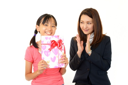 willing: Girls willing to pass exam  Stock Photo