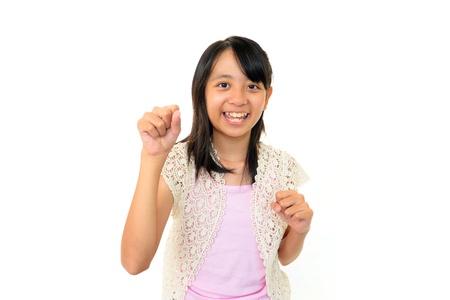 Girls willing to pass exam Stock Photo - 15743756