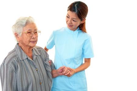 Woman Elderly Smile