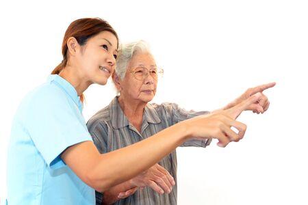 Anciana Sonrisa