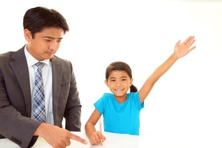 Child Studying Stock Photo - 15771778