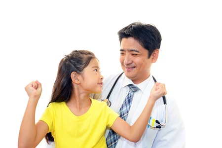 Smiling asian medical doctor Stock Photo - 15771755
