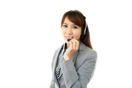 Smiling business woman Stock Photo - 15876013