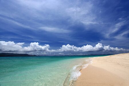 Gorgeous Beach in Summertime photo