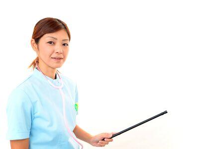 Young asian female nurse Stock Photo - 15949759