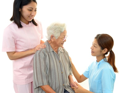 women s health: Woman Elderly Smile Stock Photo