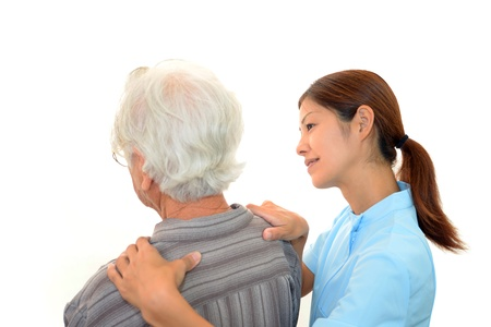 Woman Elderly Smile 免版税图像
