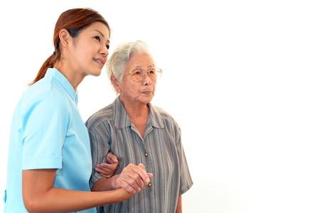 alzheimers: Woman Elderly Smile Stock Photo