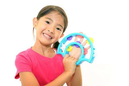 Smiling girl 免版税图像