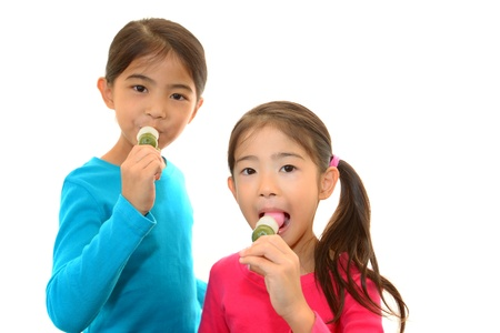 schoolroom: The girl who eats a snack