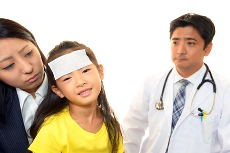 Happy medical doctor and Patient Stock Photo - 16459001