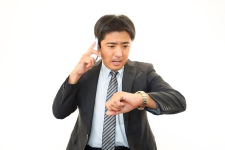 Depressed businessman Stock Photo - 16462684
