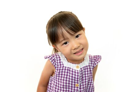 Portrait of little Asian girl Stock Photo - 16457538