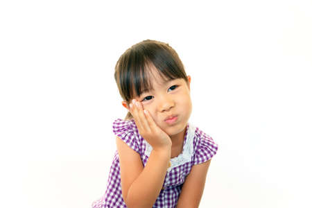 Portrait of little Asian girl Stock Photo - 16457532