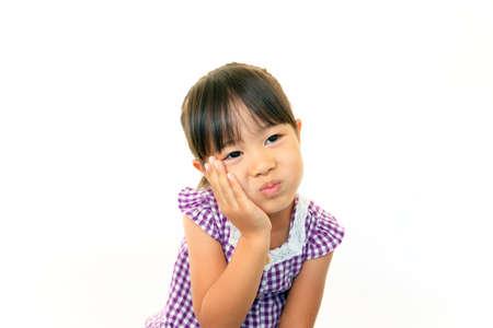 Portrait of little Asian girl Stock Photo - 16457532