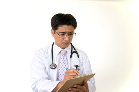 Physician in practice