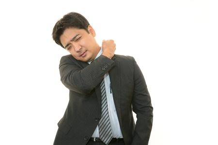 salaried: Stressed businessman  Stock Photo
