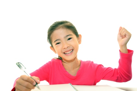 Child Studying photo