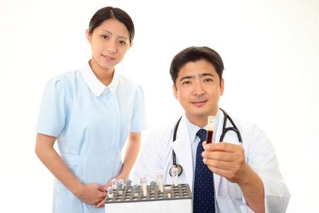 stress testing: Medical staff working