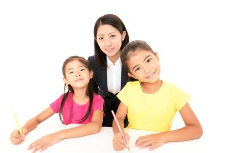 self study: Children Studying