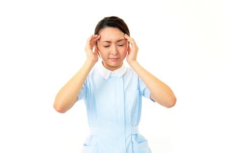 tiring: Nurse of a tiring state