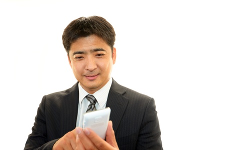 Smiling businessman Stock Photo - 16715450