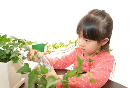 Portrait of little Asian girl Stock Photo - 16714488