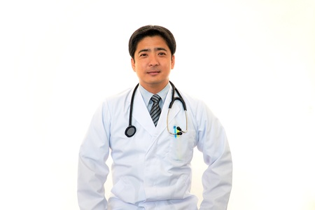 Smiling Asian medical doctor Stock Photo - 16842590