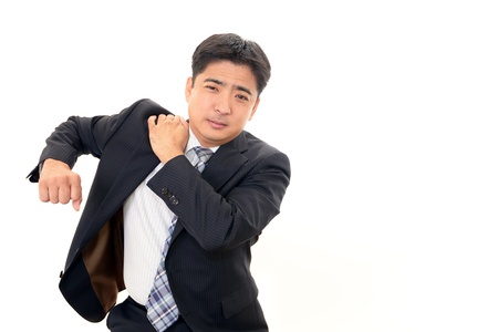 Stressed businessman Stock Photo - 16946043