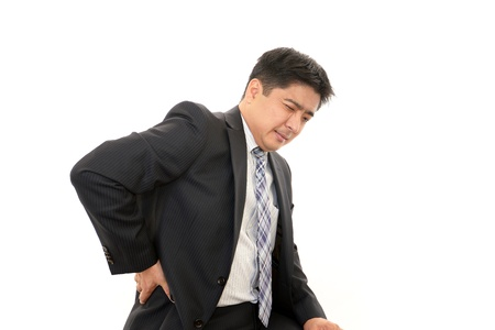 Stressed businessman Stock Photo - 16946035