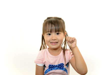 Portrait of little Asian girl Stock Photo - 16948776