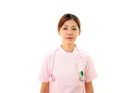 Young  Asian female nurse Stock Photo - 16973630