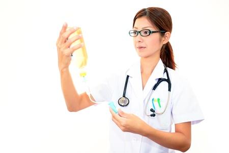 enteritis: Asian medical doctor